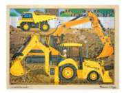 Melissa & Doug Construction Jigsaw Puzzle