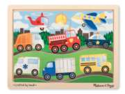 Melissa & Doug On the Road Vehicles Jigsaw Puzzle