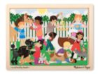 Best Friends - 12pc Wooden Jigsaw Puzzle By Melissa & Doug