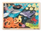 Under the Sea - 24pc Wooden Jigsaw Puzzle By Melissa & Doug