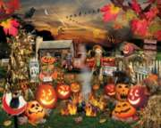 White Mountain Jack O'Lantern 1000-piece Jigsaw Puzzle