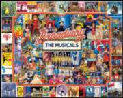 White Mountain Broadway 1000-piece Jigsaw Puzzle