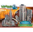 Midtown West - 900pc 3D Puzzle by Wrebbit