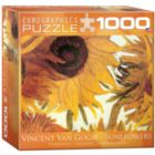 Sunflowers by Van Gogh (Small Box) - 1000pc Jigsaw Puzzle by Eurographics