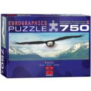 Eurographics Eagle over Mountain Jigsaw Puzzle