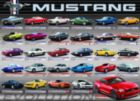 Ford Mustang Evolution 50th Anniversary - 1000pc Jigsaw Puzzle by Eurographics