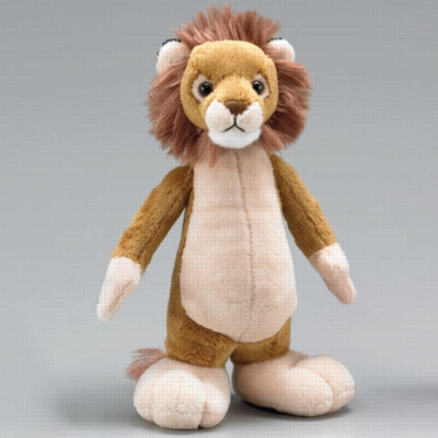 "Big Foot Lion - 10"" Lion by Wildlife Artists"