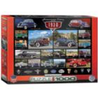 1930's Cruisin' Classics - 1000pc Jigsaw Puzzle by Eurographics
