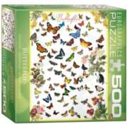 Eurographics Butterflies (Small Box) Jigsaw Puzzle