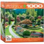 Eurographics Butchart Gardens Sunken Garden (Small Box) Jigsaw Puzzle