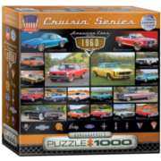 Eurographics 1960s Cruisin' Classics (Small Box) Jigsaw Puzzle