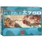 Creation of Adam by Michelangelo Puzzle - 750pc Jigsaw Puzzle by Eurographics
