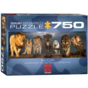 Eurographics Big Cats Jigsaw Puzzle