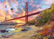 Eurographics Baker Beach, California by Dominic Davison Jigsaw Puzzle