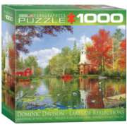 Eurographics Lakeside Reflection by Dominic Davison (Small Box) Jigsaw Puzzle