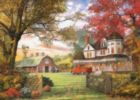 Old Pumpkin Farm (Small Box) - 300pc Jigsaw Puzzle by Eurographics