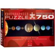 Eurographics Solar System Jigsaw Puzzle