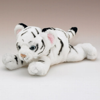 "White Tiger Cub - 9"" Tiger by Wildlife Artists"