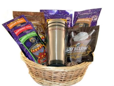 SeriousChai.com Gift Basket (Small)