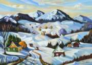 Ravensburger Winter in Charlevoix Jigsaw Puzzle