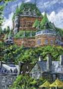 Ravensburger Ch�teau Frontenac, Qu�bec Jigsaw Puzzle