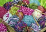 Ravensburger Knitting Notions Large Format Jigsaw Puzzle
