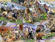 Ravensburger Postcard Parks Jigsaw Puzzle
