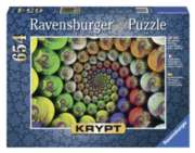 Ravensburger Krypt Colorful Spiral Jigsaw Puzzle