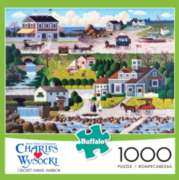 Buffalo Games Cricket Hawk Harbor by Charles Wysocki Jigsaw Puzzle