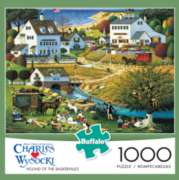 Buffalo Games Hound of the Baskervilles by Charles Wysocki Jigsaw Puzzle