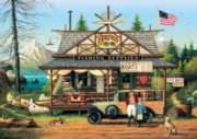 Buffalo Games Proud Lil Angler by Charles Wysocki Jigsaw Puzzle