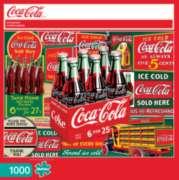 Buffalo Games Coca-Cola: Evergreen Jigsaw Puzzle