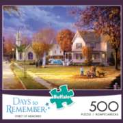 Buffalo Games Street of Memories - Days to Remember Jigsaw Puzzle
