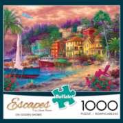 Buffalo Games On Golden Shores - Escapes by Chuck Pinson Jigsaw Puzzle