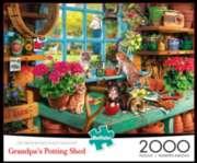 Buffalo Games Grandpa's Shed Jigsaw Puzzle