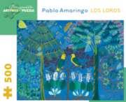 Pomegranate Amaringo: Los Loros 500-piece Jigsaw Puzzle