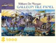 Pomegranate De Morgan: Galleon Tile Jigsaw Puzzle