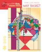 Pomegranate Flwright: May Basket 300-piece Jigsaw Puzzle