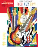 Pomegranate Schreckengost: Rock Jazz Bass 500-piece Jigsaw Puzzle