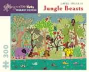 Pomegranate Sheskin: Jungle Beasts 300-piece Jigsaw Puzzle