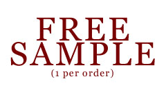 Free Sample! (One Per Order)