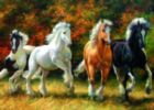 Galloping Horses - 1000pc Jigsaw Puzzle by Ravensburger