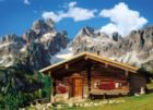 Austria, The Mountain House - 1000 pc Jigsaw Puzzle by Clementoni