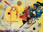 """Clementoni Kandinsky """"Yellow-Red-Blue"""" Jigsaw Puzzle"""