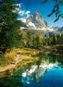 Clementoni Matterhorn in the Mirror Jigsaw Puzzle