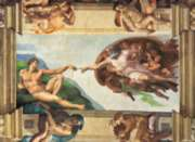 "Clementoni Michelangelo ""The Creation of Man"" Jigsaw Puzzle"