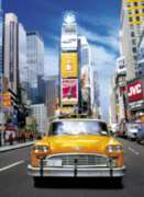 Clementoni Taxi in Times Square Jigsaw Puzzle