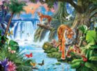 Tiger's family - 3000 pc Jigsaw Puzzle by Clementoni
