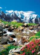 Clementoni View to Mont Blanc Jigsaw Puzzle