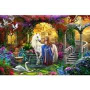 Schmidt In the Fairy Garden Jigsaw Puzzle